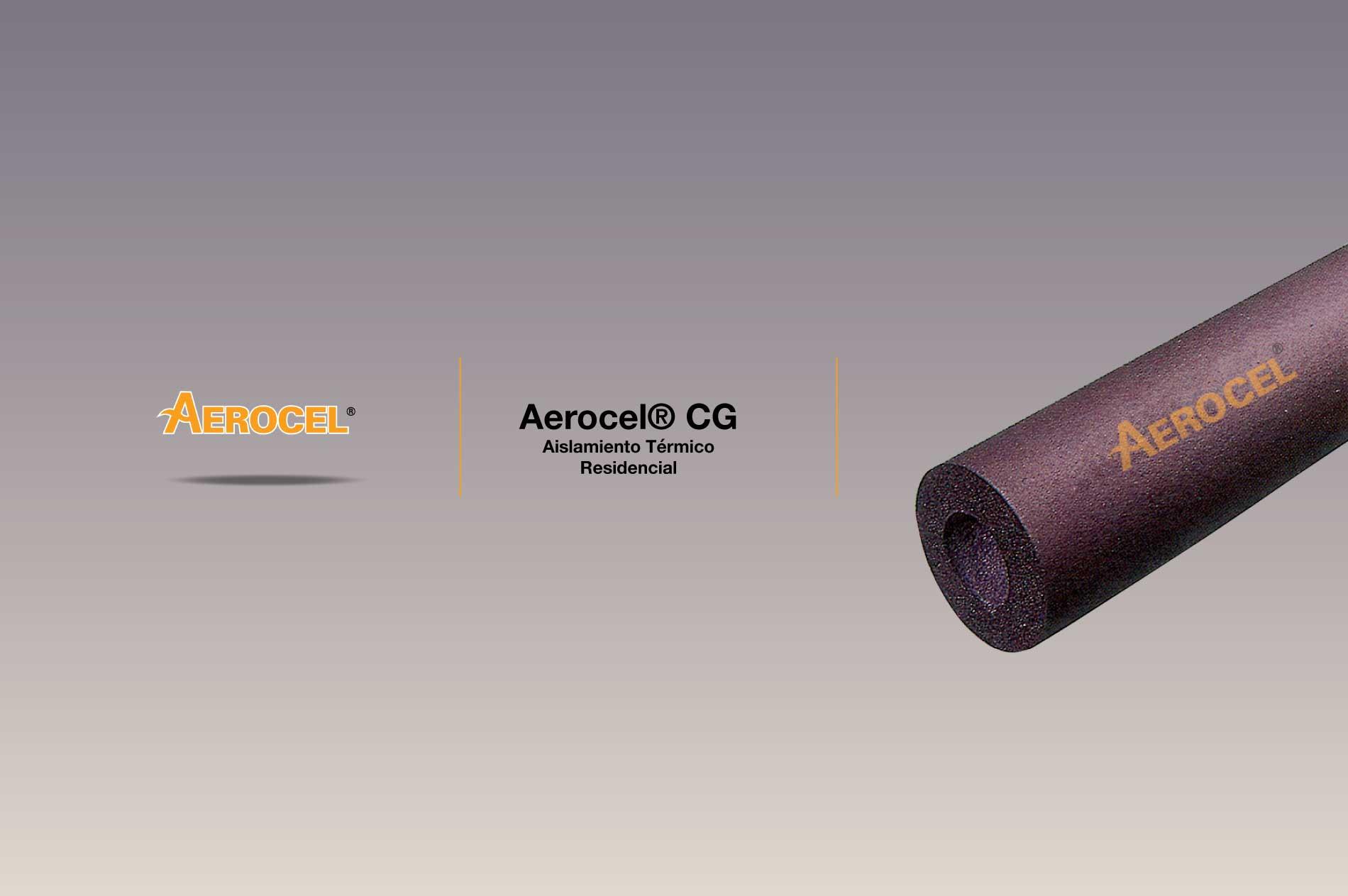 El aislante Aerocel® CG Tube, en forma tubular sin luz, se puede deslizar en la tubería antes de conectarlo. También se puede cortar a lo largo y colocarse sobre tuberías que ya están conectadas. Todas las costuras longitudinales deben sellarse con adhesivo de contacto Aeroseal.