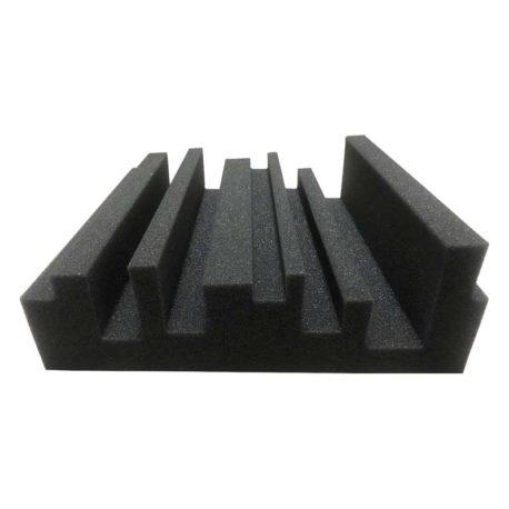 espuma-acustica-de-corte-escalonado
