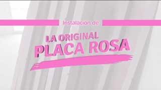 La Original Placa Rosa
