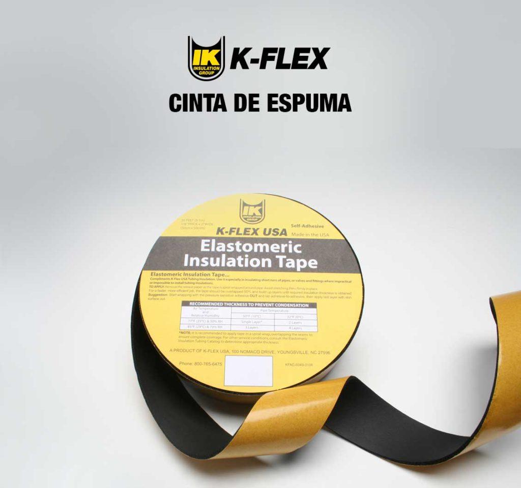 Cinta de Espuma, K-Flex
